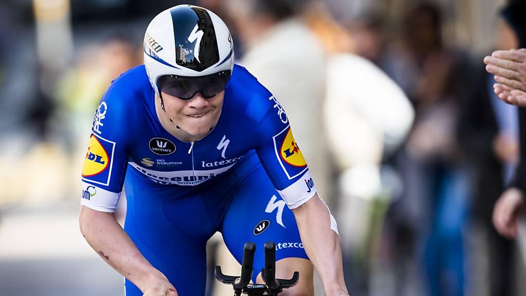 Der 21-jährige Belgier Remco Evenepoel hat heuer noch keinen Renntag in den Beinen und steht am Start des Giro d'Italia.