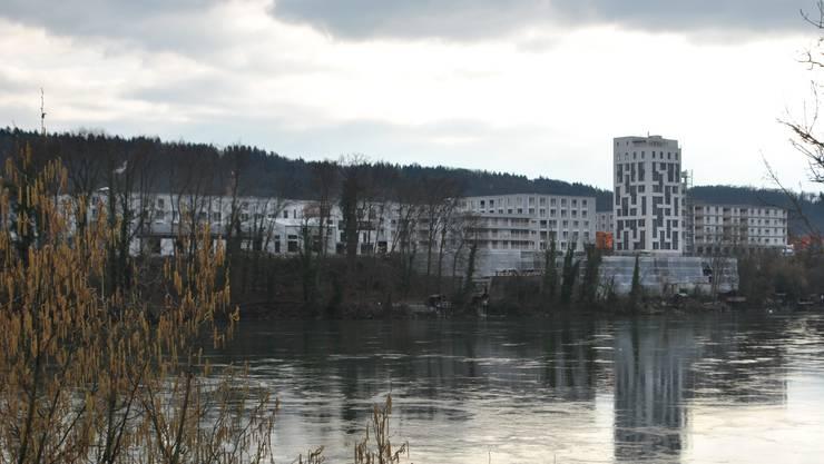Grosse Überbauungen wie der Salmenpark beeinflussen die Leerwohnungsstatistik, da sie schrittweise bezogen werden.