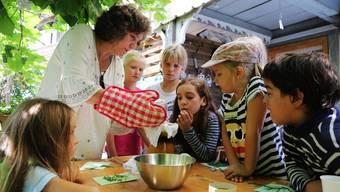 Ferienpass Bucheggberg 2017: Kräuter und Blumen