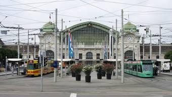 Zurzeit wenig Betrieb in Basel, doch die Frequenz wird ab August wieder zunehmen: Der Bahnhof SBB in Basel.