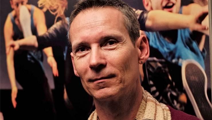 Der einstige Profitänzer und heutige Ballettmeister und Juror Franz Brodmann besuchte mit der bz «Fame» am Theater Basel.Kenneth Nars