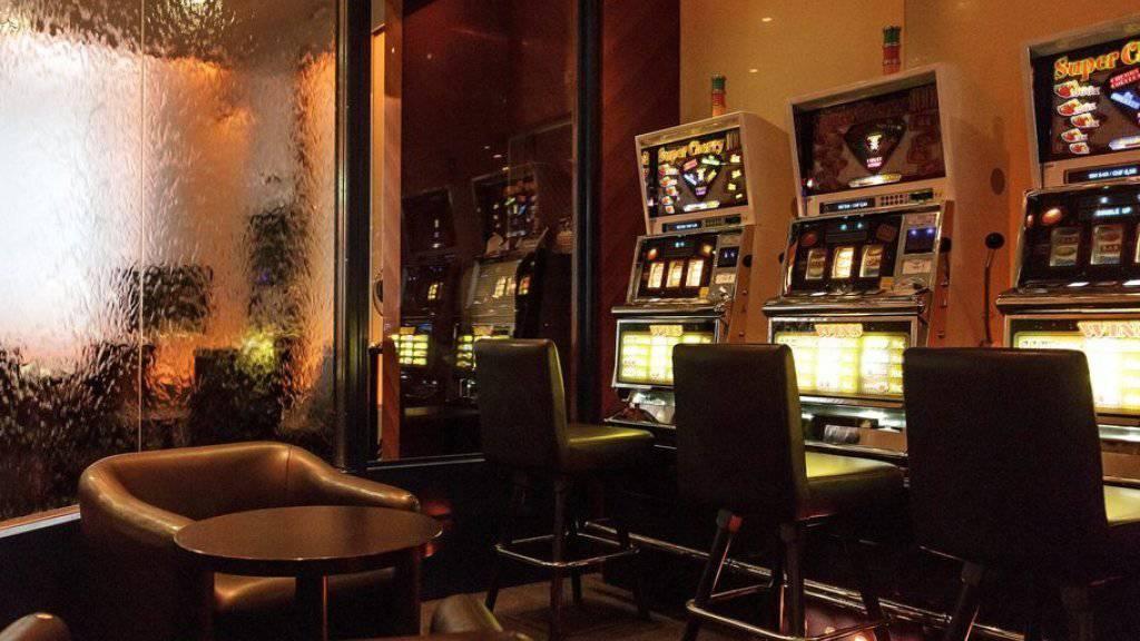 Das Grand Casino Baden wurde evakuiert und das Gebiet um das Casino weiträumig abgesperrt. (Archiv)