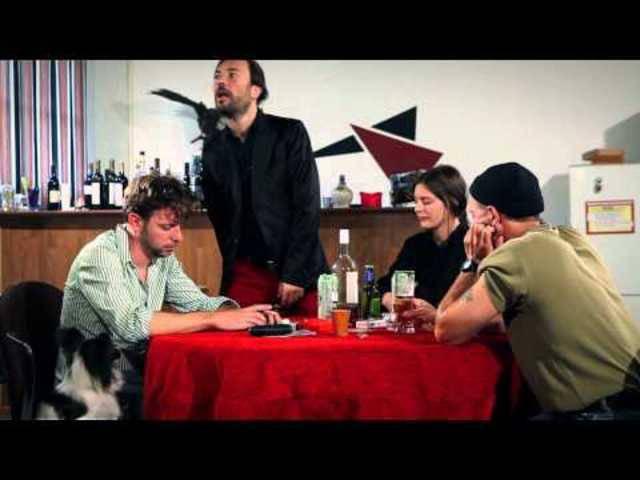 Rolf Maurer in einem Kurzfilm fürs Zürcher Filmfestival (2014)