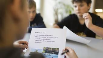 Projekte für Tagesschulen mit Mittagstisch und Aufgabenhilfe werden im Kanton Zürich auch weiterhin nicht vom Kanton mitfinanziert.  (Symbolbild)