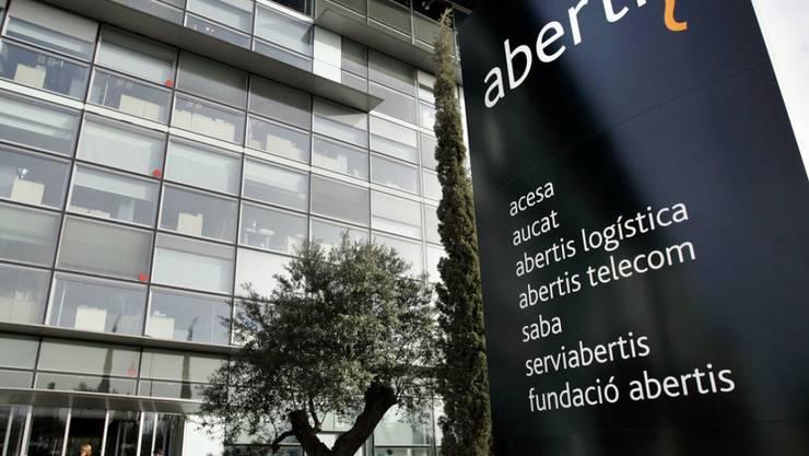 In Spanien baut sich eine Milliardenübernahme im Verkehrssektor an: Der Hauptsitz von Abertis in Barcelona. (Archiv)