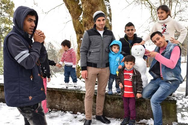 Tag der offenen Tür in der Asylunterkunft Fridau in Egerkingen