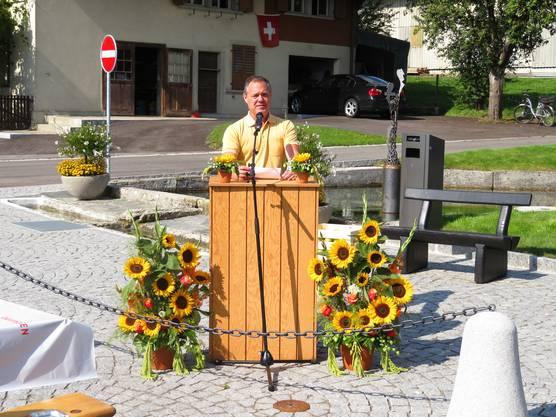 Projektleiter Uriel Kramer.