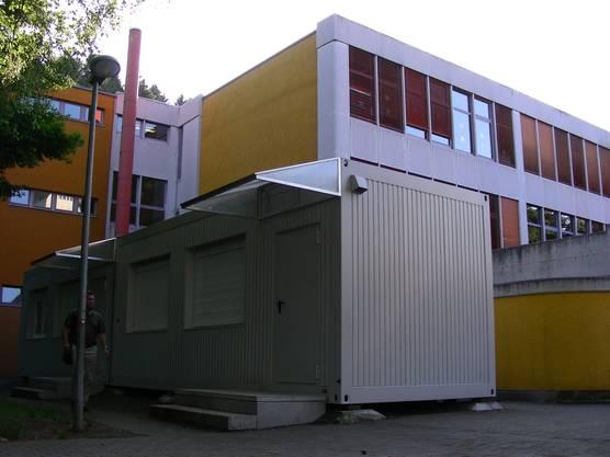 Schulanlage Hasel Spreitenbach Provisorium