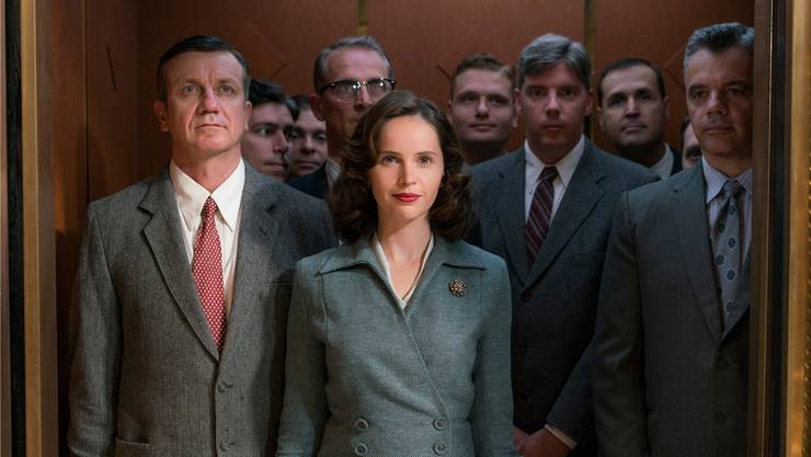 Felicity Jones spielt in «On the Basis of Sex» Ruth Bader Ginsburg. Ascot Elite