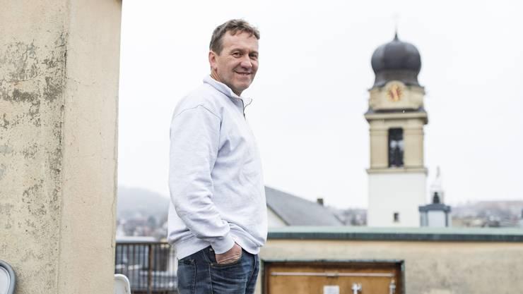 Der ehemalige Franziskaner-Mönch Beno Kehl leitet das Haus Zueflucht seit mehr als zehn Jahren.