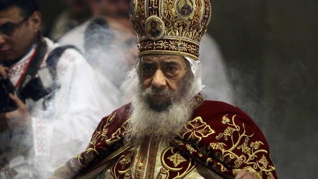 Der verstorbene Papst der ägyptischen Kopten, Schenuda III. (Archiv)