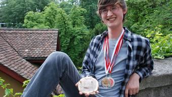 Cyril Frei aus Tägerig holt Bronze in Amsterdam