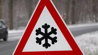Die Kantonspolizei zählte elf Unfälle im Kanton Aargau. (Symbolbild)