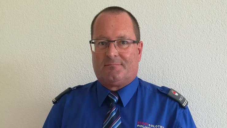 Walter Lüdi, der neue Polizeikommandant.