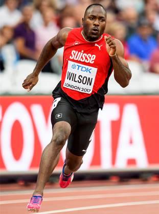 Alex Wilson ist stolz darauf, die Schweiz bei internationalen Grossanlässen zu repräsentieren.
