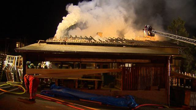 Grosser Schaden nach Brand in Schreinerei
