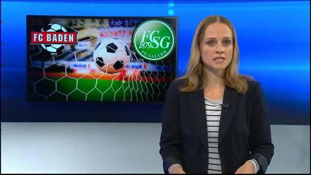 Cupknüller FC Baden: St: Gallen