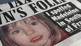 Bild der verschwundenen Madeleine