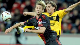 Knapper Sieg für Leverkusen gegen Aris Saloniki