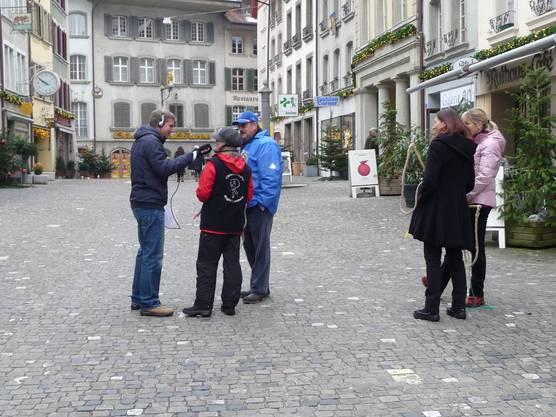 DRS1 live in der Rathausgasse in Lenzburg.