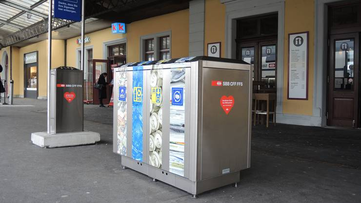 Die Recycling-Systeme der SBB hätten in der Stadt einen schweren Stand. Gal