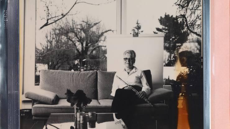 Den Traum, Querflöte zu spielen, erfüllte ich mir mit 43 Jahren. Seither begleitet sie mich in allen Lebenslagen. Sie gibt mir Freude und Ruhe, die von innen kommt.