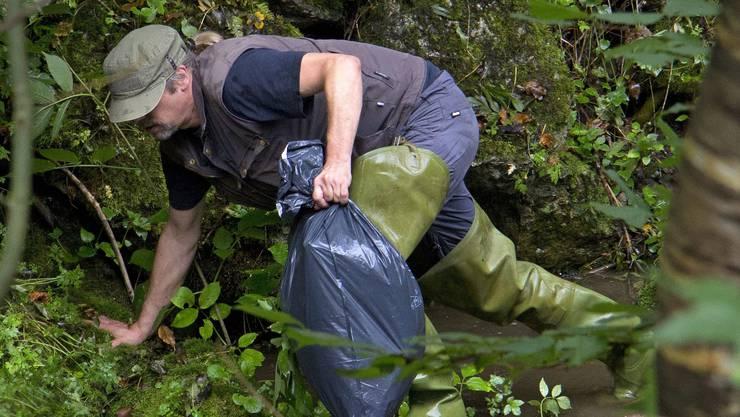 Engagement für ein sauberes Dorf. (Symbolbild)