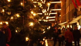 So wars vor acht Jahren: Night-Shopping in der Aarauer Altstadt.archiv