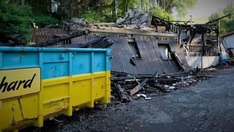 Der Tag nach dem Brand in Birmensdorf