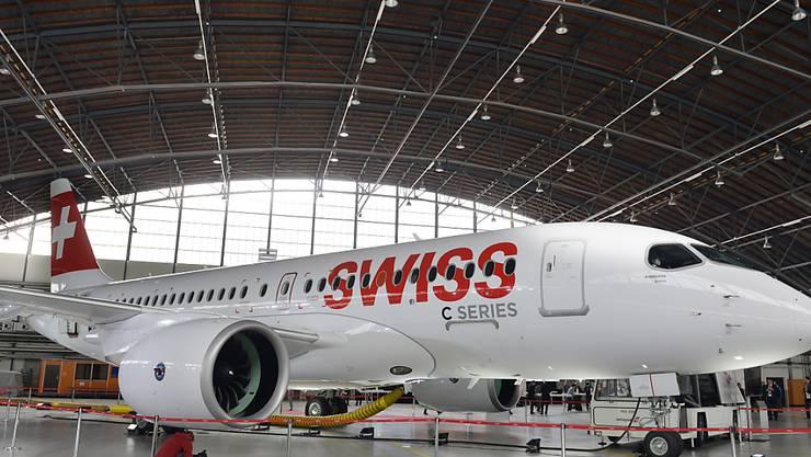 Nach den massiven Ausfällen der Europa-Flugzeuge vom Typ C-Series/A220 wegen Triebwerkinspektionen an den beiden Vortagen läuft der Flugbetrieb bei der Swiss am Donnerstag wieder normal. (Archiv)