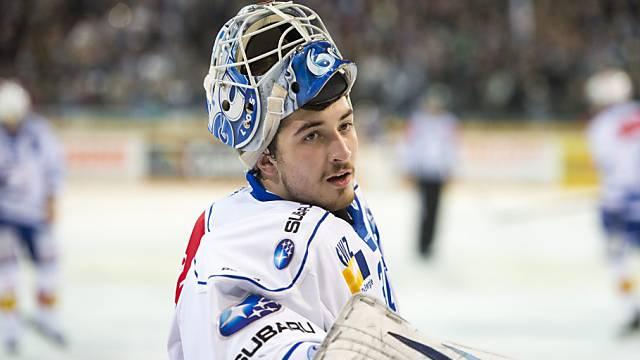 ZSC-Goalie Melvin Nyffeler mit Rekord in der NLA.
