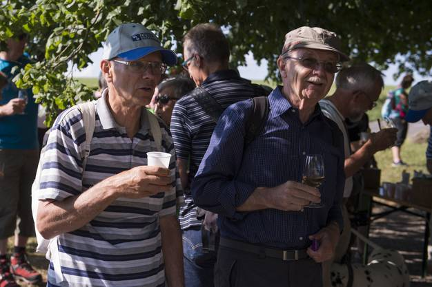 Die Gemeinde Bözberg offerierte einen Apéro