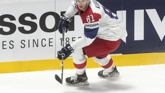 Dominik Kubalik stürmt nächste Saison in der NHL für die Chicago Blackhawks