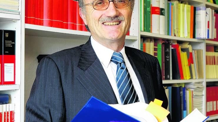 FDP-Politiker: «Mit Schulden ist nichts zu gewinnen», sagt Thomas Schwarz. (Hanspeter Bärtschi)