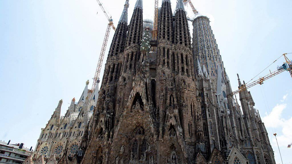 Die Sagrada Familia ist das meistbesuchte Wahrzeichen der katalanischen Hauptstadt. 2017 verzeichnete das Unesco-Weltkulturerbe 4,5 Millionen Besucher.