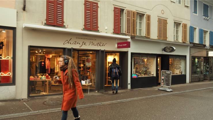 Eine Filiale von «Changemaker» gibt es neu auch in Baden. Mit dieser wurde der letzte leere Laden an der Badstrasse besetzt.