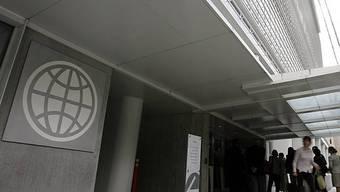 Haupteingang der Weltbank in Washington