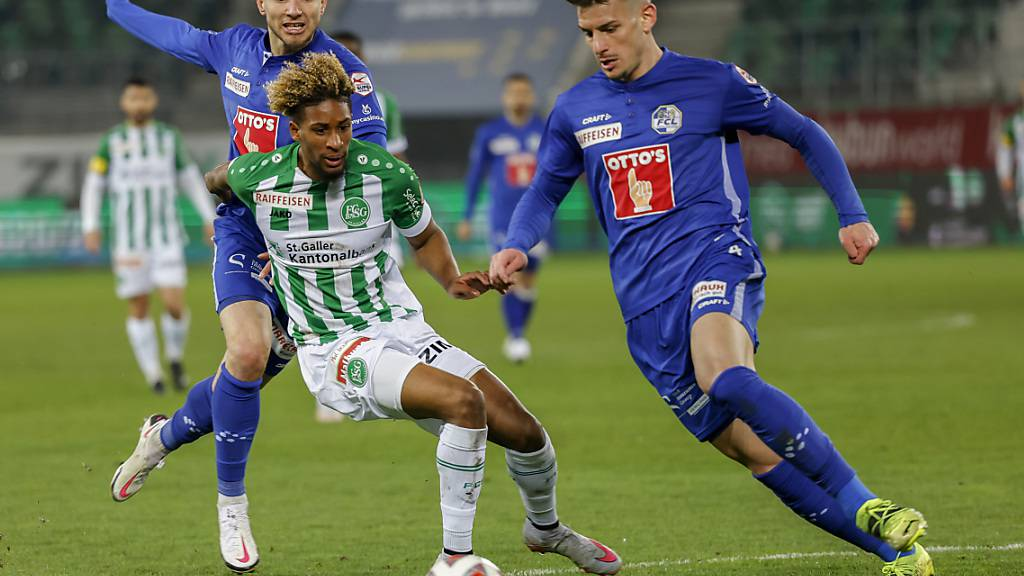 St. Gallen trifft am Pfingstmontag beim Cupfinal in Bern auf Luzern. Der Fussballverband ruft die Fans auf, wegen der Coronapandemie nicht nach Bern zu reisen.