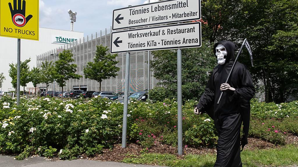 Corona-Neuinfektionen in Deutschland höchste Stand seit vier Wochen