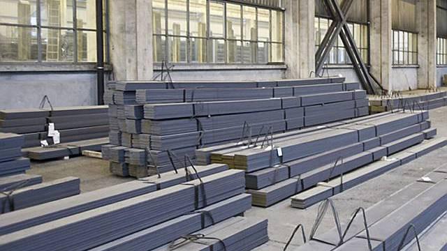 Die Nachfrage nach Stahl sinkt nicht so stark wie erwartet