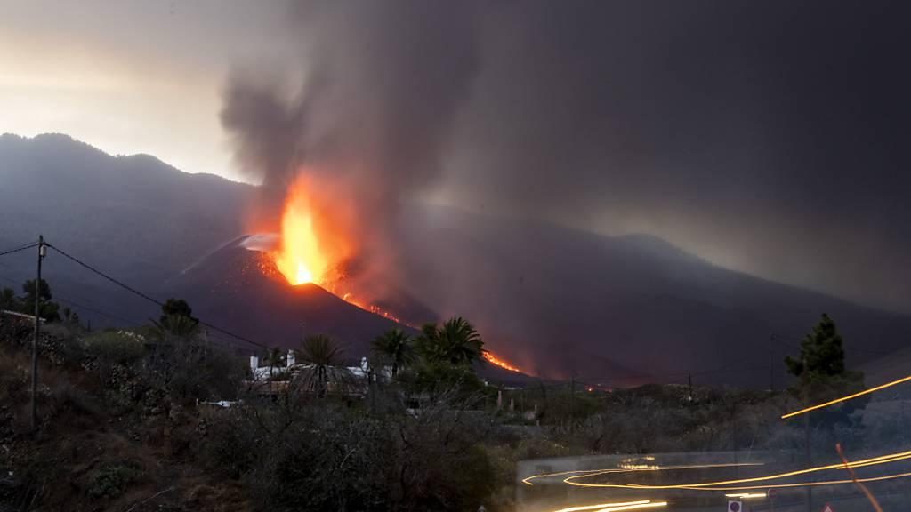 Experten rechnen noch mit langem Vulkanausbruch auf La Palma