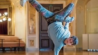 Jakub Józef Orliński wagt den Spagat zwischen Opernbühne und Breakdance – und das erfolgreich.Bild: Urs Jaudas
