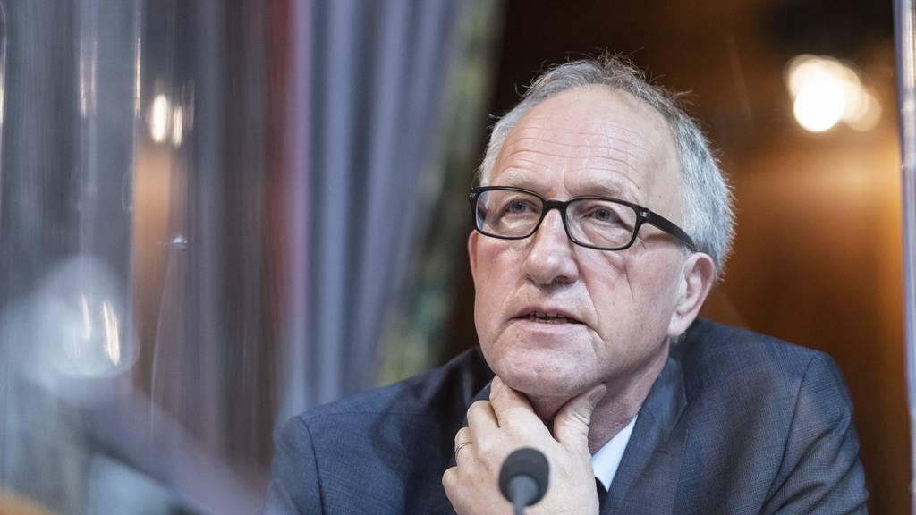 Peter Hegglin muss wegen Corona-Erkrankung auf Sessionsende verzichten