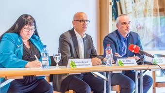 Medienkonferenz Fall Funda Yilmaz Buchs Gemeinderat