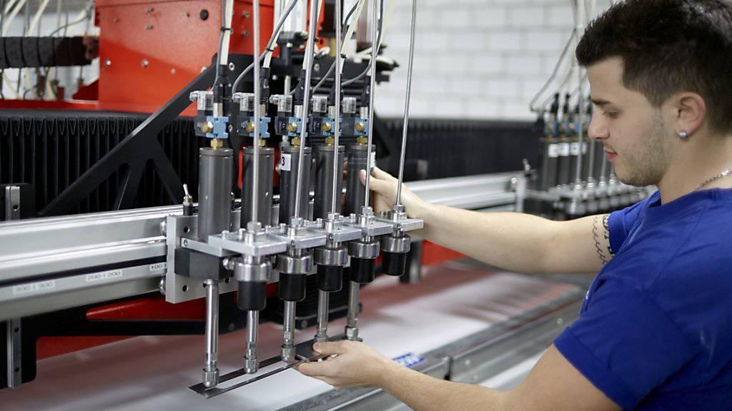 Schweizer Industrieproduktion knickt im dritten Quartal ein (Symbolbild).
