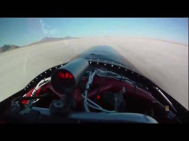 «Formula Top 1» – der schnellste Töff der Welt rast mit über 600 Kilometern pro Stunde.