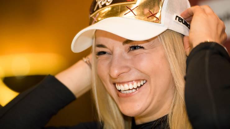 Enttäuschung bei Olympia ist abgehakt: Lara Gut in Crans-Montana