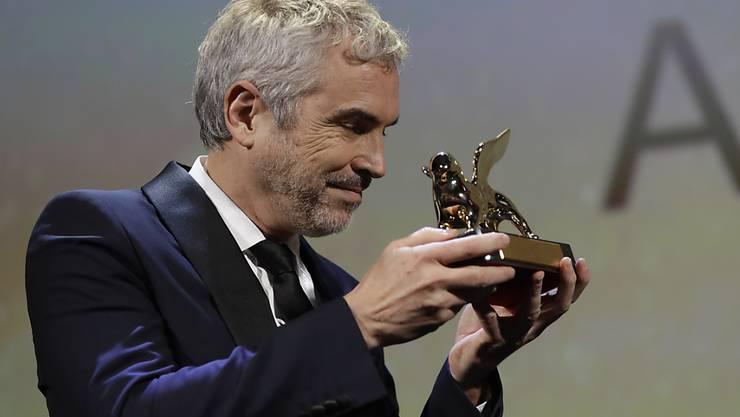 Gewinner von Venedig: der mexikanische Regisseur Alfonso Cuarón mit dem Goldenen Löwen.