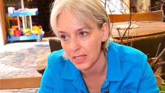 Brigitte Hollinger, Präsidentin der SP Basel-Stadt.
