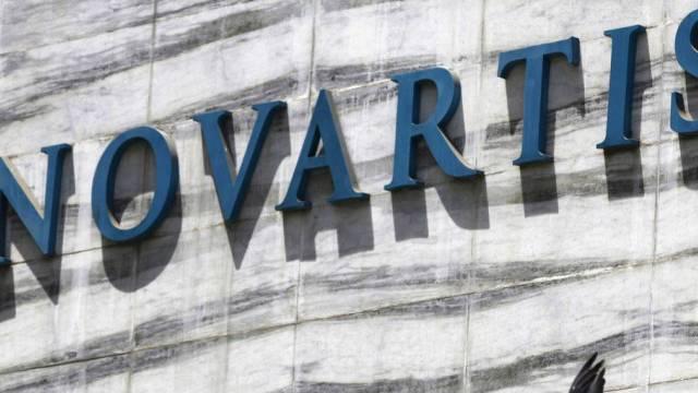 Das Logo des Pharmakonzerns Novartis